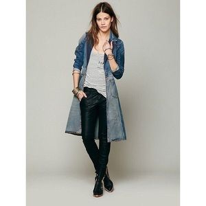 FP X Artisan De Luxe | Patched Denim Long Jacket